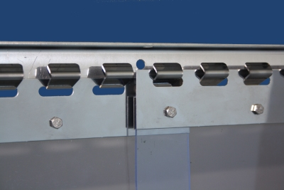 PVC-Schutzvorhang - Streifenvorhang