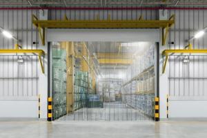 PVC Streifenvorhang für die Industrie