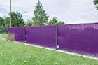 Windschutz Gartenzaun violett