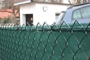 Zaun Sichtschutz am Maschendrahtzaun